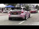 CRAZY Wrap Subaru Impreza WRX STI Hatchback - Supercars on State Street