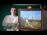 Копия картины Поленова Московский дворик