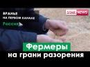 В РОССИИ фермеры на грани разорения Как врут на первом канале Россия 2017
