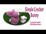 Crochet Easter Bunny Decoration Tutorial  Girlybunches