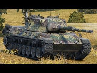 World of Tanks Leopard 1 - 2 Kills 10,1K Damage