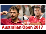 Stan Wawrinka vs Martin Klizan 2017 AO 16-Jan Round 1 Highlights HD720p50 by ACE