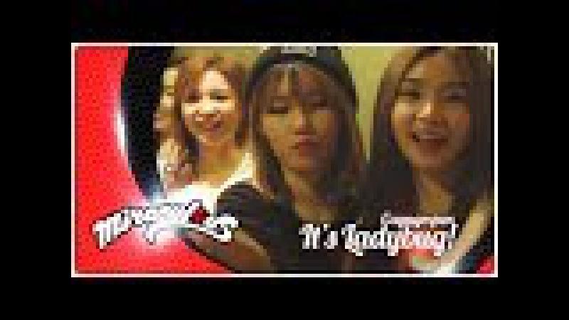 Леди Баг и Супер-Кот | K-POP группа Fiestar - ♫ IT'S LADYBUG! | Музыкальная тема - За кулисами