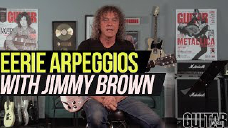 Eerie Arpeggios Lesson with Jimmy Brown