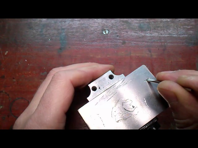 002 Metal inlay in metal How do I do it Всечка металла в металл Как это делаю я