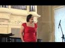 Разлучница зима Александра Кабанова сопрано Ольга Митёкина фортепиано
