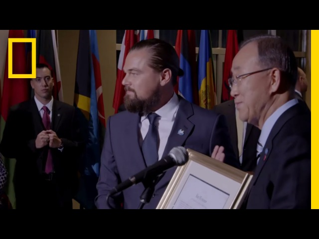 Titanic Video LeonardoDiCaprio United Nations Messenger of Peace | Before the Flood
