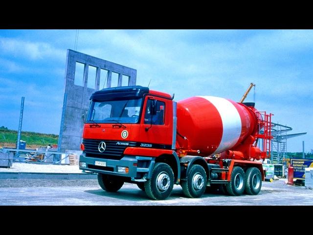 Mercedes Benz Actros 3235 B Mixer MP1 04 1997 10 2002