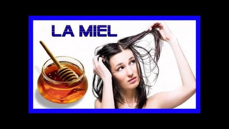 Como reparar las puntas abiertas del cabello usando solo miel