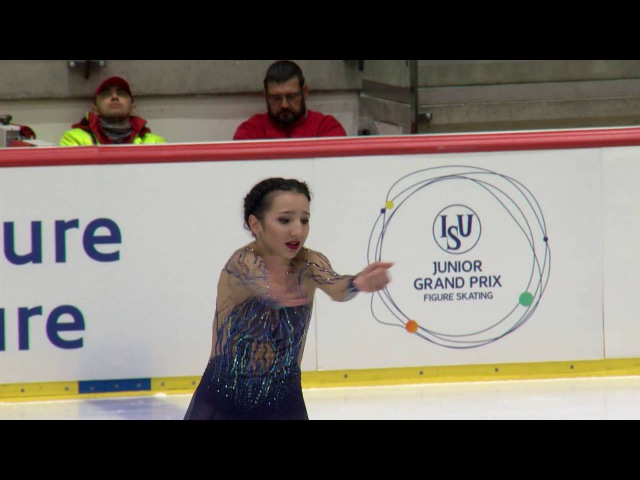 2016 ISU Junior Grand Prix - Tallinn - Ladies Short Program - Polina TSURSKAYA RUS