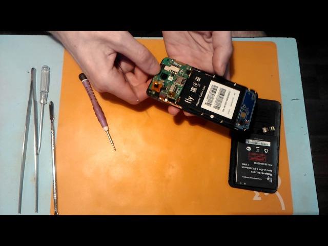 Как разобрать Fly IQ4514 Как поменять тачскрин на Fly IQ4514 Как поменять дисплей на Fly IQ4514