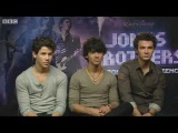 Jonas Brothers interview with BBC (UK) 120509