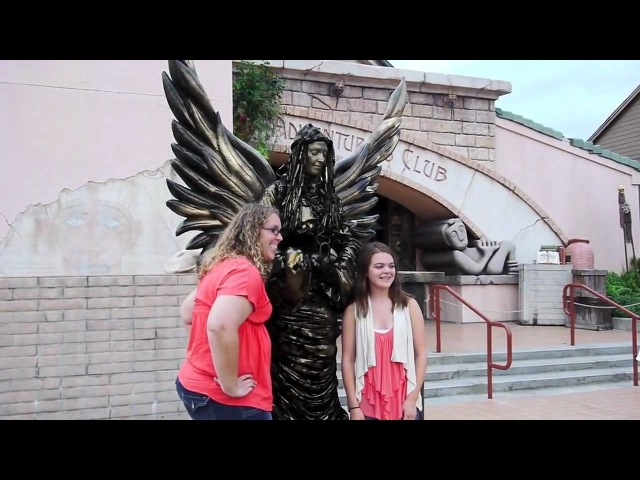 Living Statues surprise guests in Pleasure Island at Downtown Disney Walt Disney World