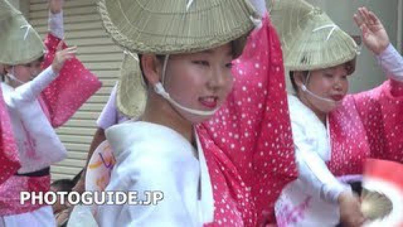 аж 2013 на 5.35 мои Koenji Awa Odori 2013 Part 1/3 第57回 東京高円寺阿波おどり 総集編