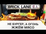 Уличная еда, мясо порвало на волокна - пробуем огненный сэндвич с рваной свинино ...
