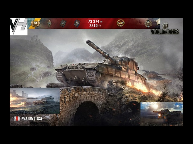 World Of Tanks ✵ FV215b (183) ✵ one shot,one kill, no luck,just skill,7100 урона
