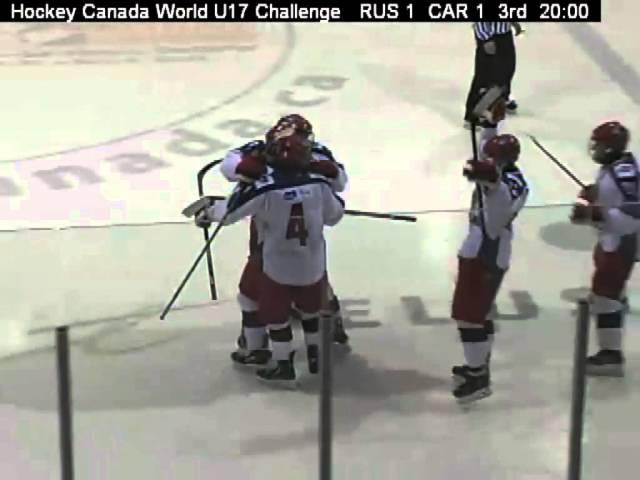 Nov 06, 2014 WHC-17: 1/4 Russia 4-1 Canada Red