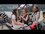 Romain Jeandrot e Sarah Lezito - 40 Motoraduno Stelvio International Metzeler 2016