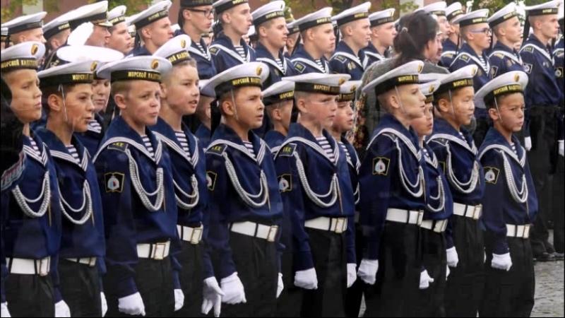 Посвящение в кадеты КМКК 3 я рота 1 взвод