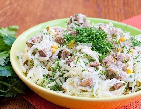Рецепты простых салатов к новому году смотреть