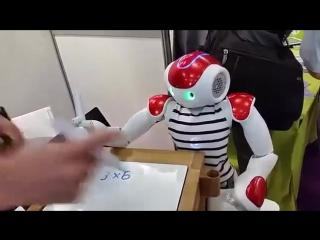 Будни робота-математика