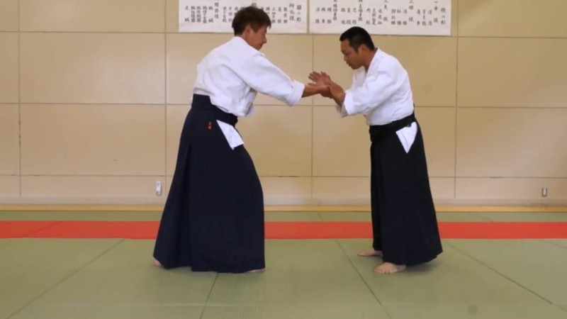 Ju Jutsu.Техника Такумакай Дайто Рю Айки Дзю Дзюцу.Урок от сэнсэя Ямомото -9.