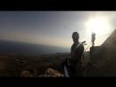 Прыжок со скалы Шаан-Кая, 230метров