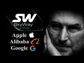 SkyWay на примере компаний Apple, Alibaba, Google. Венчурные инвестиции