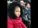 Трогательная реакция девочки на игру «Краснодара», после которой «быки» не должны проигрывать вообще