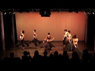 Urban fusion belly dance - ebony and raqs caravan urban - new york theatrical