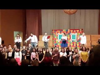 Капустник 2017 (УУИ)- Посвященние в студенты. Клятва 1-курсников