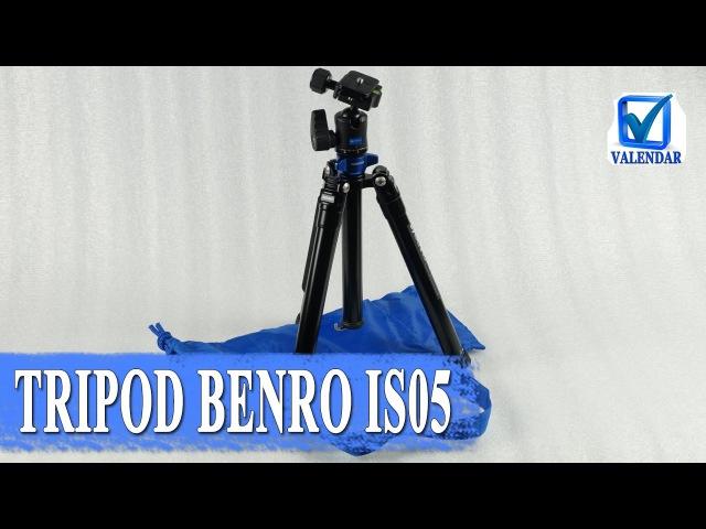 Benro IS05 легкий и компактный складной штатив для фотоаппарата
