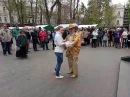 Одесса, Горсад, Золотой дедушка танцует с Машенькой