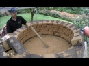 My first Pompeii Brick Pizza Oven Time Lapse Video