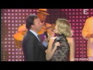 Julio Iglesias Arielle Dombasle Quizas Quizas Quizas en vivo Live! 2005