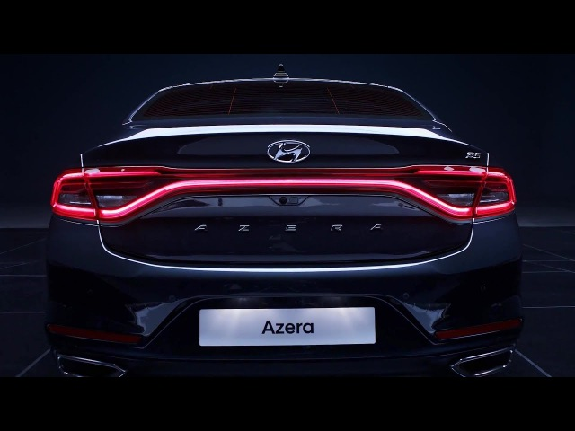 2018 Hyundai Azera - interior Exterior and Drive