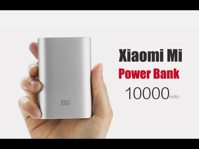 Портативное зарядное устройство Xiaomi Mi Power Bank 10000 mAh (Видео обзор 2)