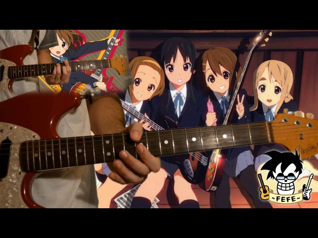 「Cagayake! GIRLS」- K-ON!【TABS】by Fefe!