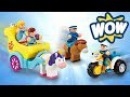 Wow Toys Police Patrol Riders Charlotte's Princess Parade With Wonder Woman Playing