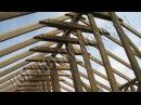 Строительство каркасного дома 8х10 м своими руками. Часть 14. Укосины центральной ...