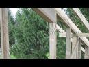 Строительство каркасного дома 8х10 м своими руками. Часть 16. Ошибка на фронтонах