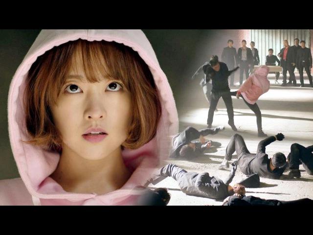 (봉크러시) 안대표님 훈련법으로 업글(!) 된 박보영 vs 백탁파 힘쎈여자 도봉순 9