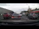 ДТП авария на Варшавском шоссе Москва 21 09 2017