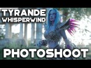 Tyrande Whisperwind photoshoot - World of Warcraft