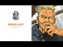 Зомби art ( Speed-art )