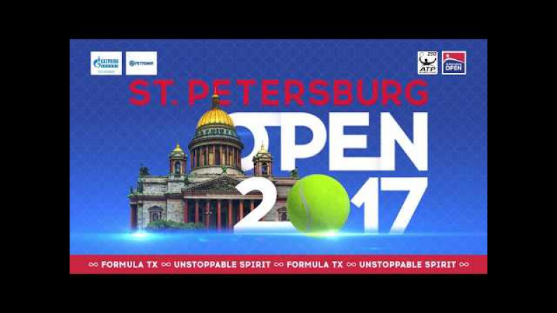 Дневник дня/ Tournament diary 20.09 ATP ST.PETERSBURG OPEN 2017