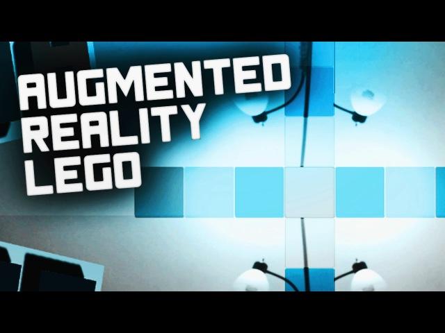 [VOD] Augmented Reality Lego - 2 Block Color Menu - Vuforia AR - Unity 5 [C]
