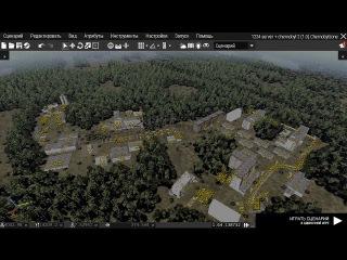 (пока нет на карте) ARMA 3 [Допиливаем карту Чернобыля] Объект: Чернобыль-2 или Дуга (ЗАПИСЬ СТРИМА)