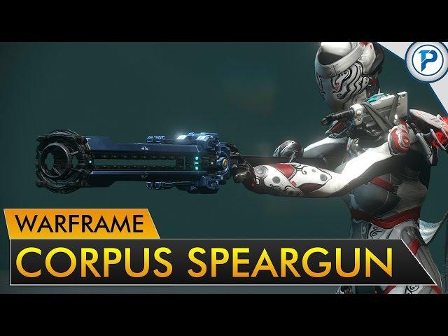 Warframe: Ferrox - Corpus Speargun