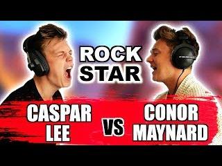Caspar Lee vs. Conor Maynard - Post Malone feat. 21 Savage - rockstar (SING OFF) *PARODY*